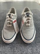 New Keds Womens Anchor Swans Island Shoes Gray 6