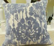 Lee Jofa 20 Chenille Pillow Cover With Cording And Velvet Backing