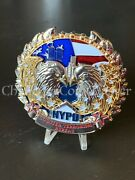 D54 Nypd Counterterrorism Bureau Police Eagles Challenge Coin Serialized