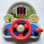 Leap Frog See And Learn Driver Autoescuela Bilingual Spanish Steering Wheel