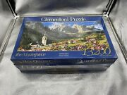 Clementoni 13200 Piece Jigsaw Puzzle Sellagruppe Italy Mountain Rare Sealed Read