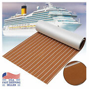94.5x47.2in Flooring Mat Non-skid Self-adhesive Decking Pad For Marine Boat Yach