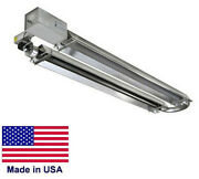 U Tube Heater Commercial - Infrared - Natural Gas - 20 Ft Tube - 50000 Btu A