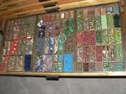 Vintage Antique African Trade Beads Gemstones Lot Authentic Jewelry
