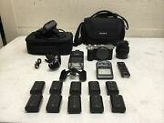 Sony Alpha 7c Ilce-7c Mirrorless Camera With Lens,extrernal Flash, Remote And Ect.