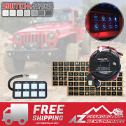 Switch-pros Sp-9100 Universal 8 Switch Wiring System For Truck✔ Jeep✔ Utv✔ Boat✔