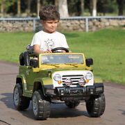 12v Kids Ride On Vehicle Battery Powered Toy W/ Mp3 Led Lights Remote Control