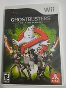 Ghostbusters The Video Game Complete In Box W| Manual Nintendo Wii