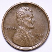 1918-s Lincoln Wheat Cent Penny Choice Unc Free Shipping E564 Xcl