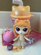 Kitten Catfe Purrista Girls Series 3 Boba Caramel With 2 Mewoble Brand New