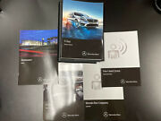 2016 Mercedes Benz S-class Owners Manual Set With Case Oem