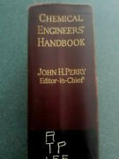 John H.perry Antiques First Edition Chemical Engineersand039 Handbook 1934
