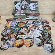 Original Xbox Game Lot Of 50+ Games As-is Scratched Untested
