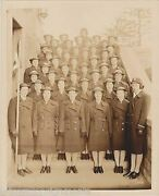 Hunter College Bronx Ny Waves Women In Uniform Vintage Wwii Ided Military Photo