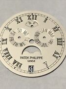 Patek Philippe Annual Calendar Moon Phase White Gold Dial 5036/1g With Date Whe