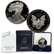 1996 P 1 Oz Proof Silver American Eagle In Original Mint Packaging