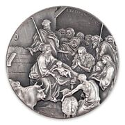 Biblical Silver Coin Series_2016_the Birth Of Jesus_2oz_new/mintsealed_831/1499