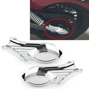 Abs Chrome Rear Swingarm Axle Bolt Covers For For Indian Scout Models 2015-2016