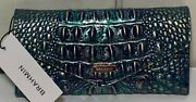 ❤️gorgeous Brahmin Nwt Dragon Veronica Wallet Sold Out And Hard To Find
