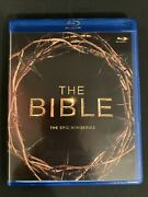The Bible The Epic Miniseries 4-disc Set Blu-ray Discs Are Pristine 2013