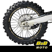 Brown Camo Wheel Stickers Decals Dirt Bike For Beta 520 Rs 2011-2014 11 12 13 14
