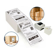 2000/stack Fanfold 4x6 Direct Thermal Shipping Barcode Labels - Zebra 2844 Usps