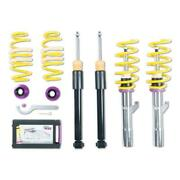 Coilover Adjustable Spring Lowering Kit Height Adjustable Stainless Steel Coilov