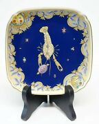 Hutschenreuther Sign Of The Zodiac Plate Cancer Ole Winther Germany