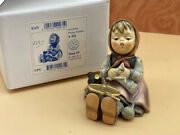 Hummel Figure 69 Strickliesl 3 1/2in 1 Quality. With. Top Condition