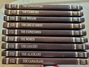 Time Life Books -- The Old West Series - Lot Of 10 Books - Gunfighters, Cowboys