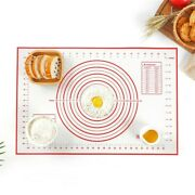 Silicone Dough Non-stick Mat Rolling Pad Baking Fondant Cakes Pizza Pastry 8size