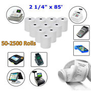 2 1/4x 85and039 Thermal Paper Credit Card Receipt And Cash Pos Register Paper Bpa Free