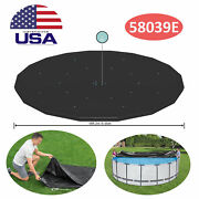 Bestway Round 18and039 Pool Cover For Frame Above Ground Pools 58039e Cover Only