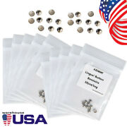 500packs Azdent Dental Orthodontic Lingual Buttons Round Base Bondable Metal