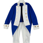 New Blue Revolutionary War Continental Navy Frock Coat Sale Expedited Shipping
