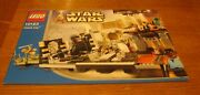 Star Wars Lego Cloud City 10123 Instruction Book Only  No Minifigs