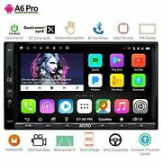 Atoto A6 Pro 2 Din Android Car Stereo Gps Navigation System W/ Dual Bluetooth