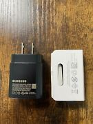 Original 25w Usb-c Super Fast Wall Charger + 3ft Cable Samsung Galaxy S20 S21