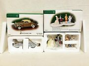 New Set Dept 56 Cic 2 Pc Life Of The Party 58970 And 1940 V16 Cadillac Coup 59416