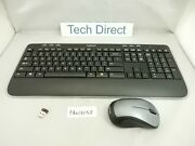 Logitech Mk520 Wireless Keyboard And Mouse Combo Secure 2.4ghz Connectivity