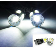 2x Cree Xr-e Projector Led 3156 For Saturn Front Turn Signal Light 14w 3157 3057