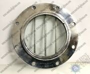 Authentic Old Vintage Silver Aluminum Porthole Window With Cage Lot Of 10