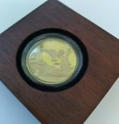 2017 Disney Mickey Through The Ages Fantasia 1/4 Oz Gold Proof Coin W Box And Coa