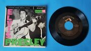 Elvis Presley Vg Orig Epa-747 With Picture Sleeve Blue Suede Shoes