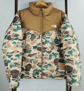 Nwt 229 The Size Xl Mens Duck Frogskin Camouflage Puffer Jacket