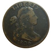 Large Cent/penny 1806 High Grade Collector Coin