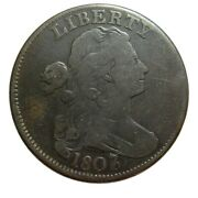 Large Cent/penny 1807 Sheldon 273 Overdate 7 Over 6 Beautiful Collector Coin