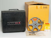 Kodak Instamatic M68 Movie Projector W/ Reel, Lid And Box - Made In Usa Super 8mm