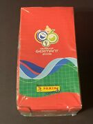 2006 Panini Candy World Cup 2006 Germany Sealed Box With 36 Packs + 10 Albums