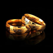 Titanium Lord Of The Rings The One Ring Menand039s Fashion Jewelry Gift Size 6-12